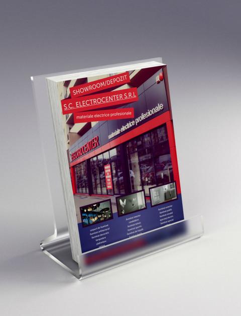 flyer promovare showroom electrocenter